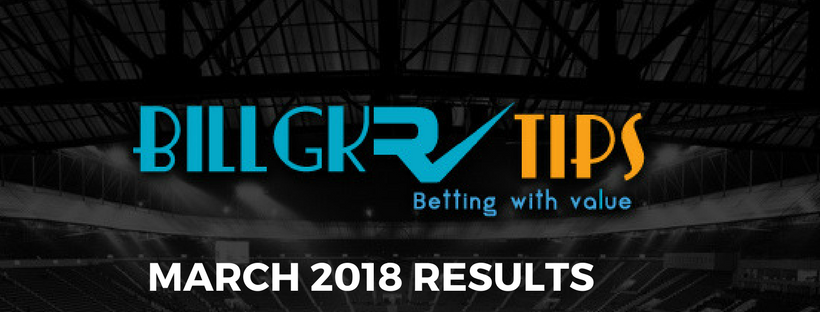 March 2018 results