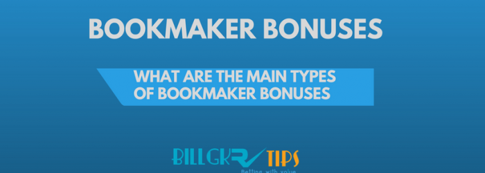 Types of bookmakers bonuses featured image