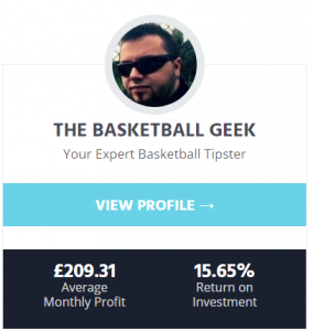 a bettinggods tipster profile